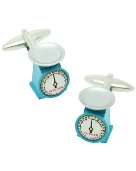 Kitchen Scales Cufflinks