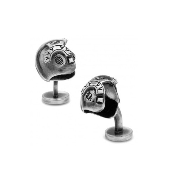 3D Luke Skywalker Helmet Star Wars Cufflinks