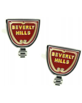 Beverly Hills Sign Cufflinks
