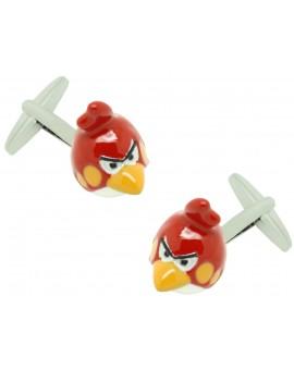3D Angry Birds Cufflinks