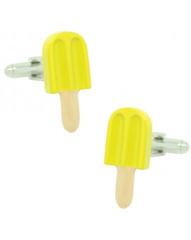 Lemon Ice Lolly Cufflinks