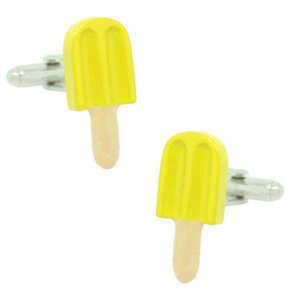 Lemon Ice Lolly Cufflinks