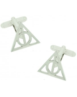 Harry Potter and the Deathly Hallows Symbol Cufflinks