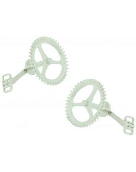 Gemelos Piñón y Pedal de Bicicleta