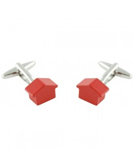 Monopoly Red House Cufflinks