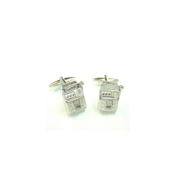 Casino Machine Cufflinks