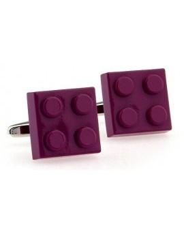 Gemelos LEGO Morado