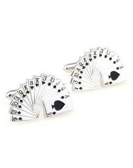 Poker Cards Cufflinks