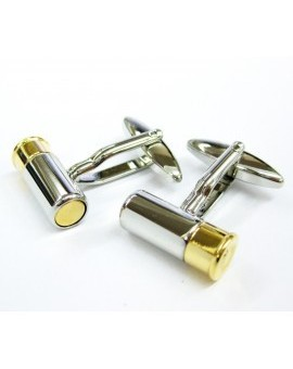 Gun Cartridge Cufflinks