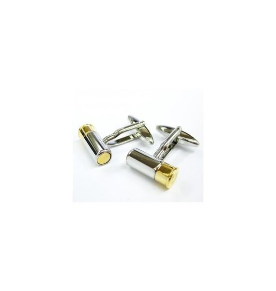 Gun Cartridge Cufflinks
