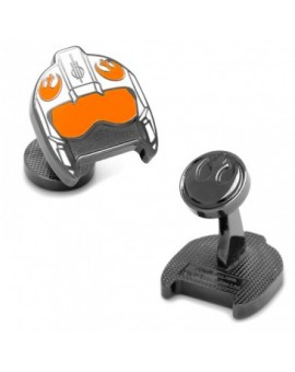 Fighter Pilot Helmet Star Wars Cufflinks