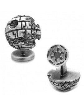 3D Death Star II Star Wars Cufflinks