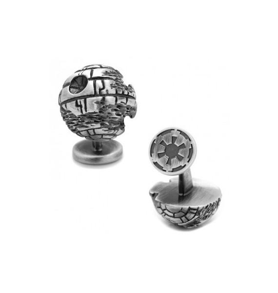 3D Death Star II Star Wars Cufflinks