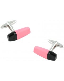 Pink Marker Cufflinks