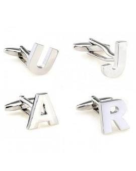 Combination of Initials Cufflinks