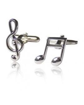 Gemelos Nota Musical y Clave de Sol