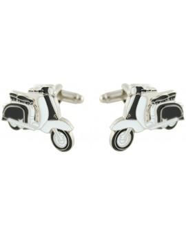 Black Vespa Cufflinks