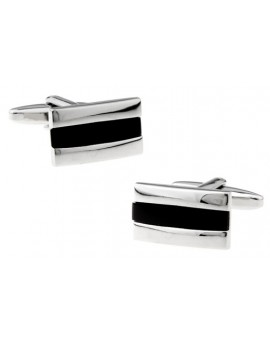 Black and Silver XX Cufflinks