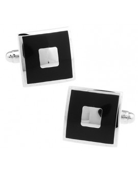 Black and Silver XXII Cufflinks