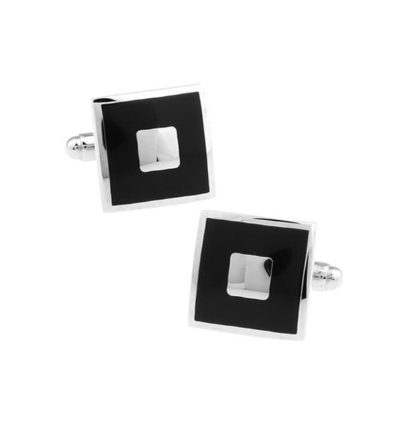 Black and Silver XXII Cufflinks
