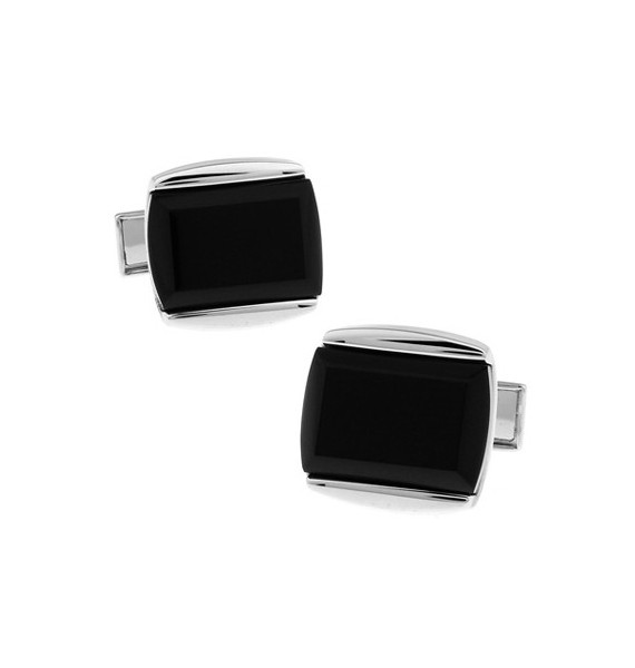 Black and Silver XXIII Cufflinks