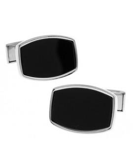 Black and Silver XXV Cufflinks