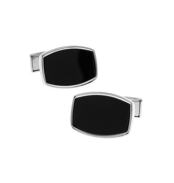 Black and Silver XXV Cufflinks