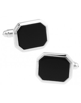 Black and Silver XXVI Cufflinks