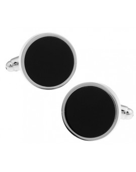 Black and Silver XXVII Cufflinks