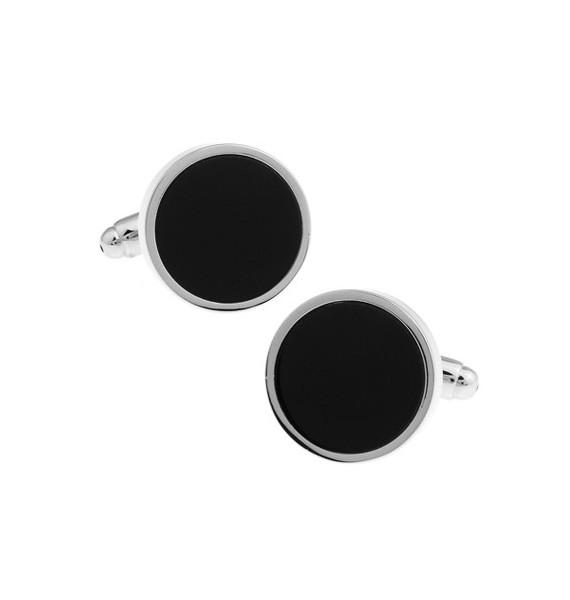 Black and Silver XXVII Cufflinks