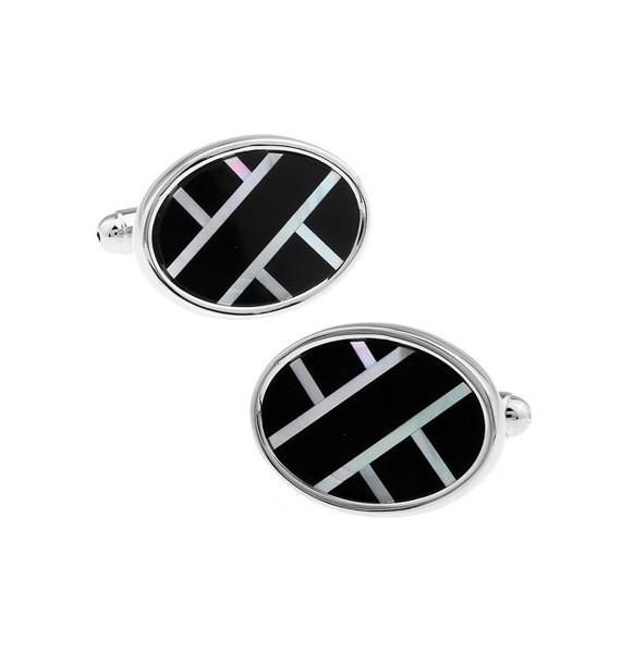 Black and Silver XXIX Cufflinks