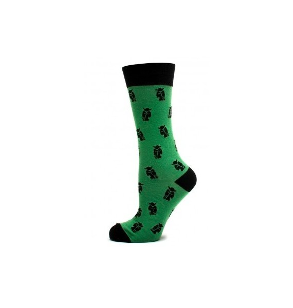 Green Yoda Star Wars Socks