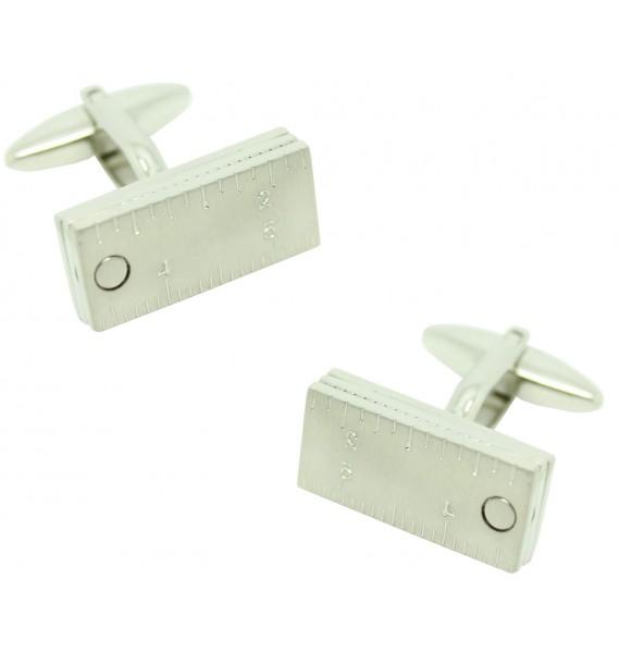 Movable Ruler Cufflinks