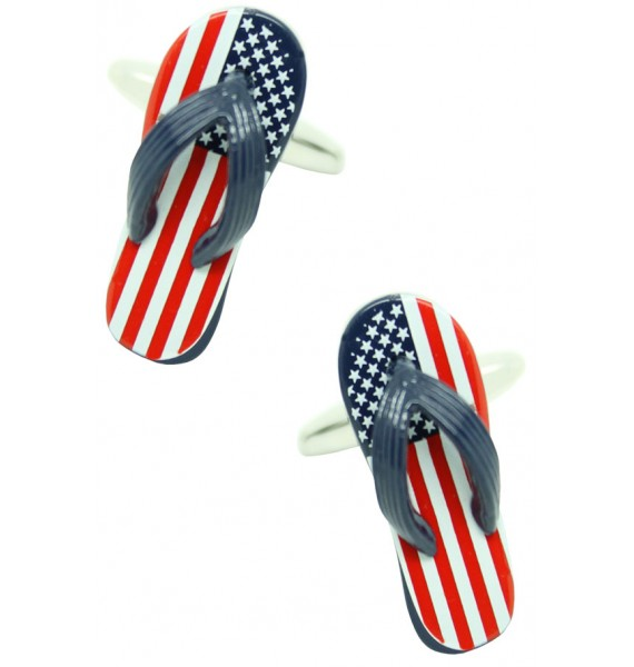 American Flip Flop Cufflinks