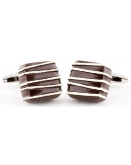 Dark Chocolate Cufflinks