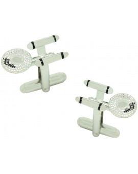 3D Enterprise Cufflinks