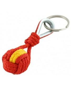 Spanish Flag Rope Keychain