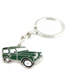 Green Jeep Keychain