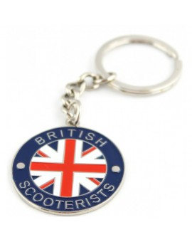British Scooterists Keychain