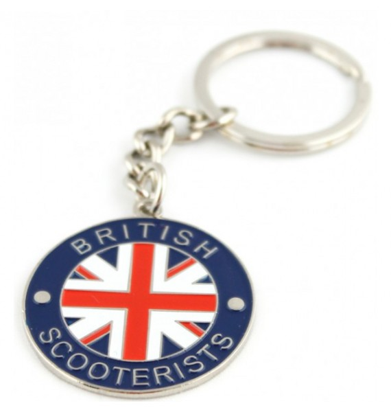 British Scooterists Keychain