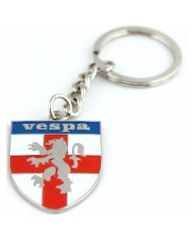 Vespa Logo Keychain