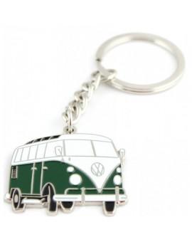 Green Volkswagen Van Keychain