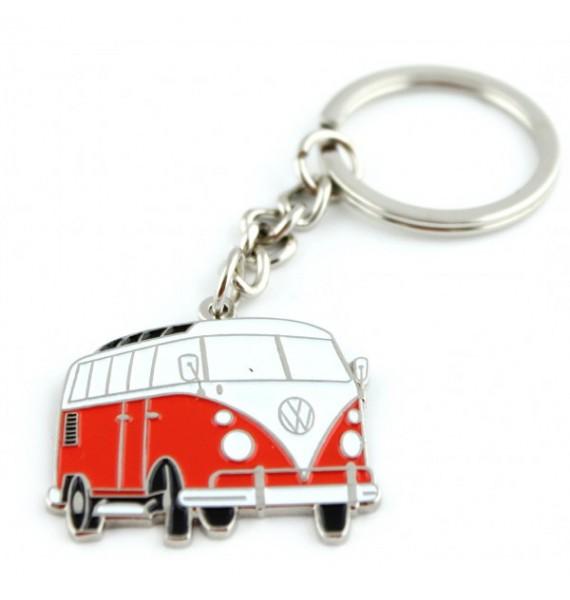 Red Volkswagen Van Keychain