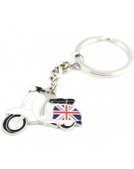 British Vespa Keychain