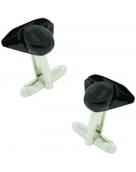 Black Spanish Civil Guard Hat Cufflinks
