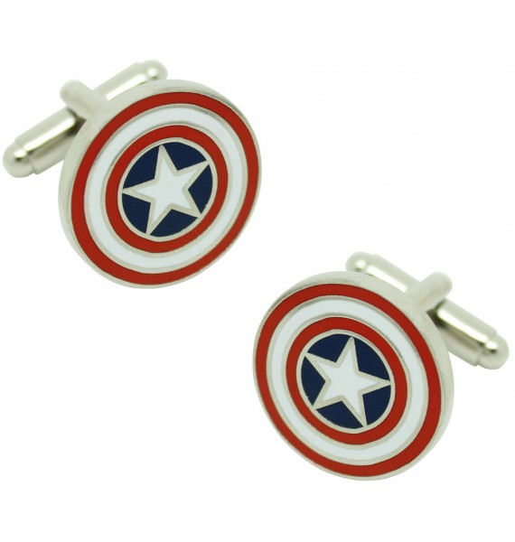 Captain America Shield Cufflinks original