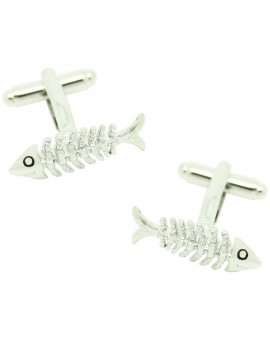 Fishbone Cufflinks