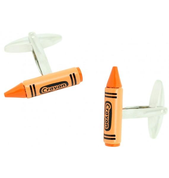Gemelos Crayon Naranja