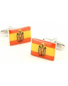 Historic Spain Flag Cufflinks
