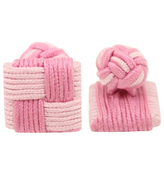 Gemelos elastico rosa y rosa claro